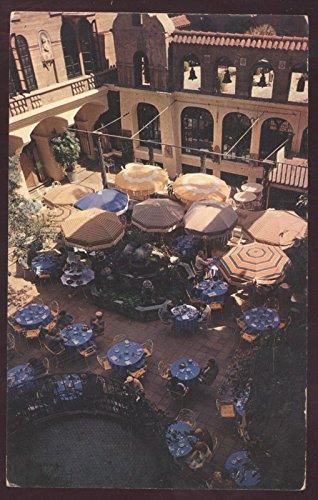 Mission Inn Patio Hotel Restaurant Riverside California Postcard