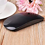 Cywulin TM-823 Wireless Optical USB Multi+Touch Scroll Mouse for Laptop, Pro Game Notebook, PC, Apple Macbook (black)