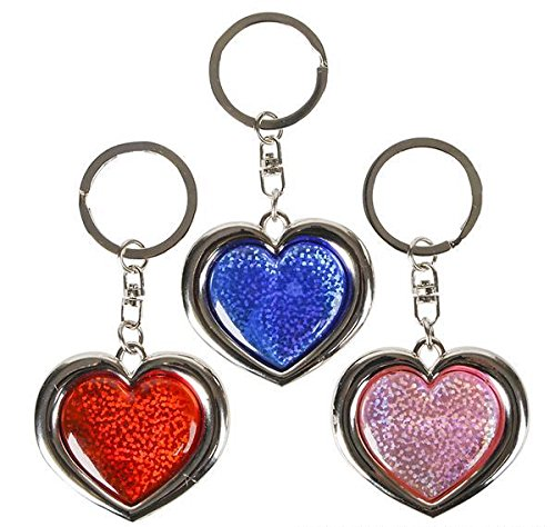 ZINC ALLOY HEART KEY RING, Case of 360