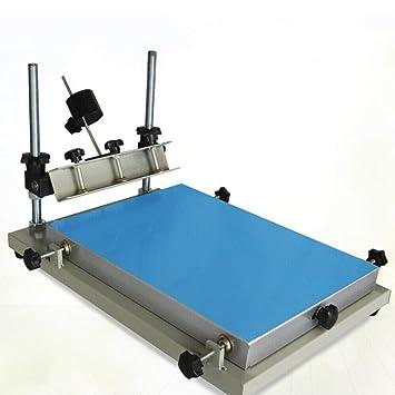 300x240mm Impresora de pasta de soldadura manual PCB SMT Stencil ...