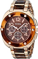 XOXO Women's XO5645 Rose Gold-Tone Watch