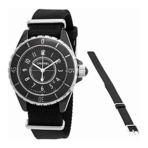 Chanel J12 Black Dial Ladies Watch H4657