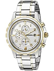 Fossil Mens FS4795 Dean Two-Tone Stainless Steel Watch