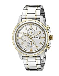 Fossil Dean Silver Watch FS4795