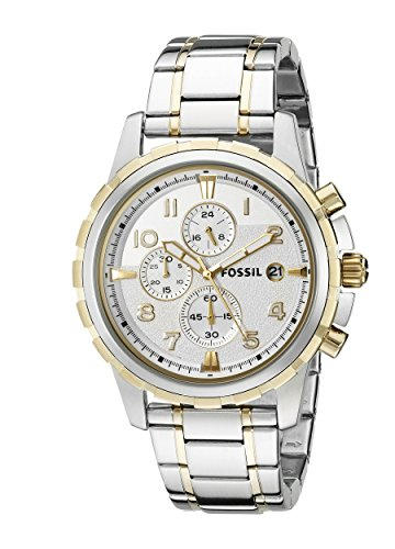Fossil Men's FS4795 Dean Two Tone Stainless Steel Watch