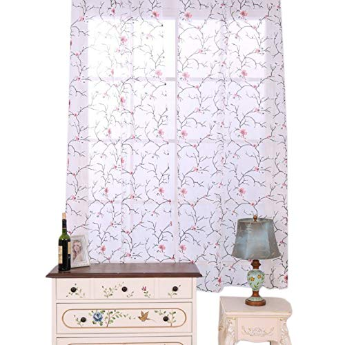 Curtain String - Plum Blossom End Screens Home Textiles Finished Bedroom Living Room Light Curtain Curtians - Bulb Bulbs Grow Lights Plum Tieback Door Work Hook Film Curtain Shop Replacement
