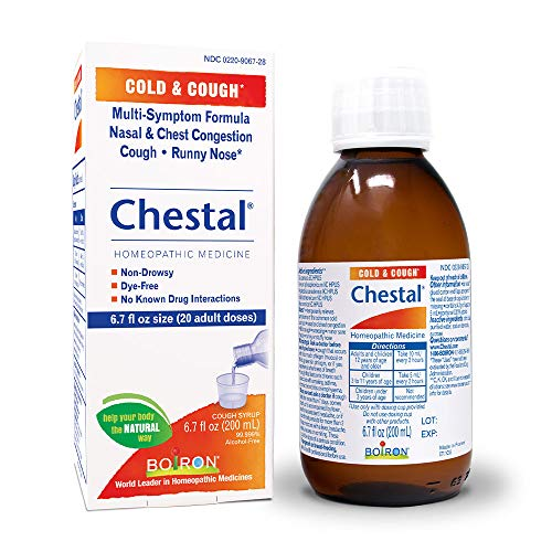 Boiron Chestal Adult Cold and Cough Syrup 67 Fl Oz Pack of 1