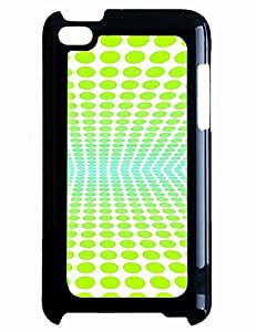 Digital Green Polka Dots Phone Hard Case for Diy For Ipod 2/3/4 Case Cover