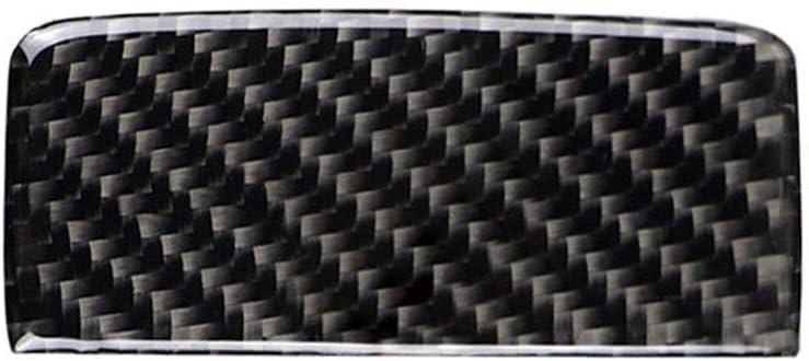 Yilong Carbon-Faser-Beifahrersitz-Aufbewahrungsbeh/älter-Handgriff-Abdeckung Ersatz f/ür Mercedes GLA//CLA//A-Klasse