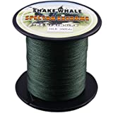 Cheap Shake Whale 100-Percent PE Good Quality Briad Braided Fishing Line Green 30LB 300Yds Yards