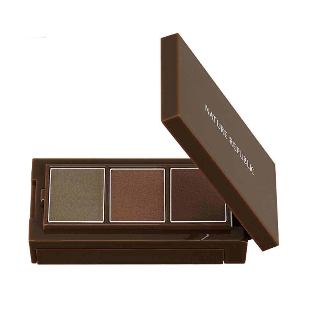 Nature Republic Botanical Styler Cake Eyebrow (#02 Mocha Gray)