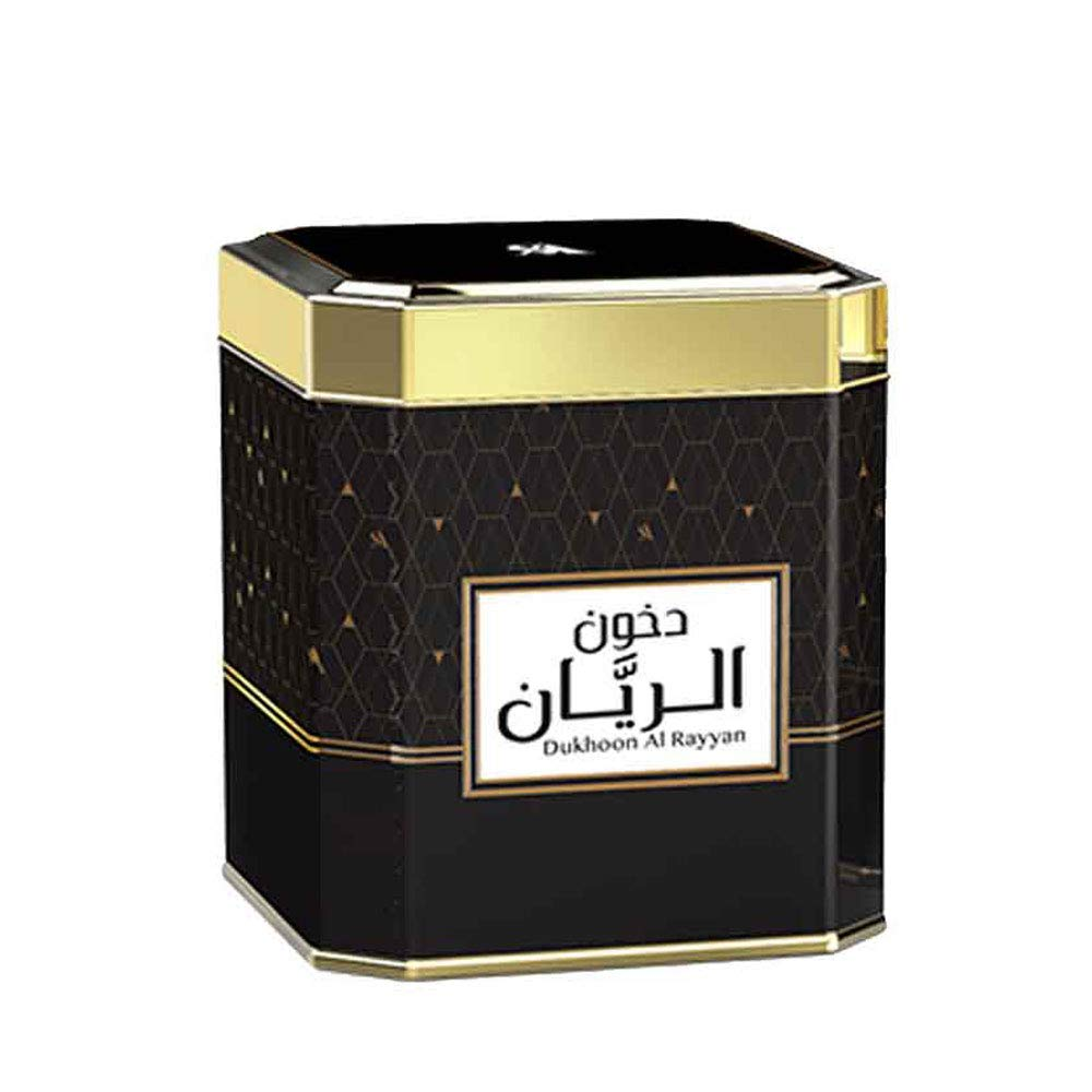 SWISSARABIAN Dukhoon Al Rayyan (125g), a Delightful Oud Incense with Green Floral top Notes and deep Musk, Amber, Woody Base by Oudh Perfume Artisan Swiss Arabian