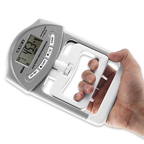 Hand Grip Dynamometer : Camry digital hand dynamometer grip strength measurement