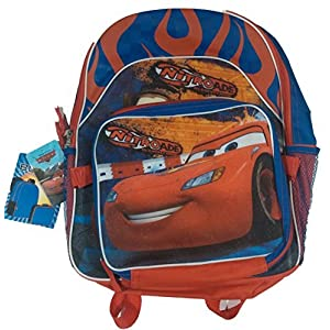 Disney Cars Nitroade Backpack with Detachable Lunch Bag