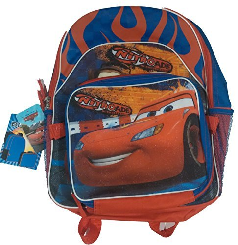 Disney Cars Nitroade Backpack with Detachable Lunch - Uk Brands Luxury Top