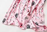 Amoy-Baby Women's Cotton Blend Green Floral Nightgown Casual Nights XTSY001-Pink Cat-S
