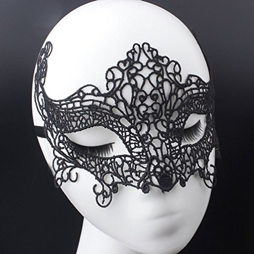Lace Sexy Mask,Venetian Masquerade Lace Eyemask Eye Mask for Halloween Masquerade Party,Girlfriend Gift