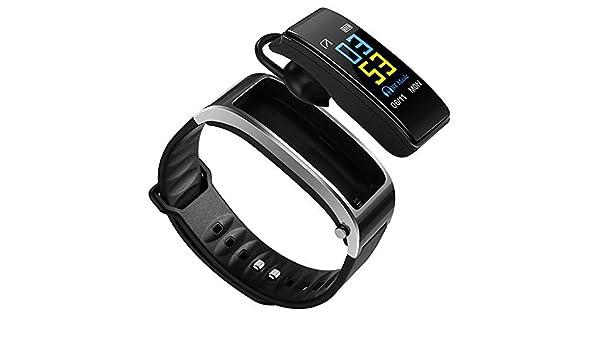 AOZBZ Bluetooth Headset Fitness Tracker Reloj Smart Watch ...