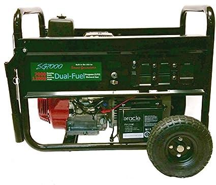 Smart Generators SG7000B2 U2013 7000/12000 WATT DUAL FUEL PORTABLE GENERATOR  WITH HONDA ENGINE