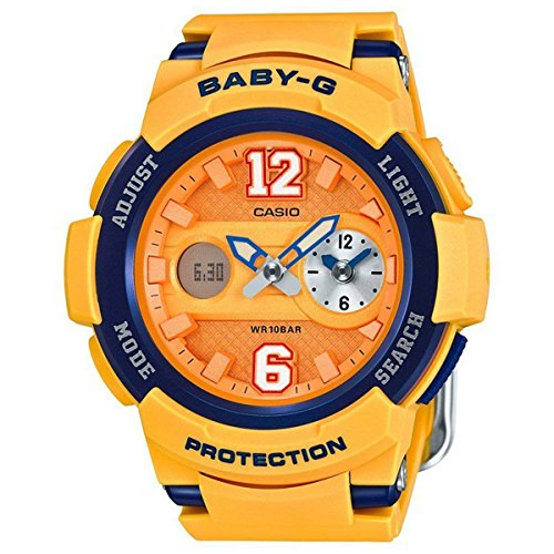 Casio Unisex Baby-G BGA-210 Analog-Digital Casual Quartz Watch (Imported) BGA-210-4B