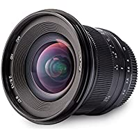 JARAY Distortion Correction 12mm f/2.8 Wide Angle Manual Focus Camera Lens for All Sony E-mount