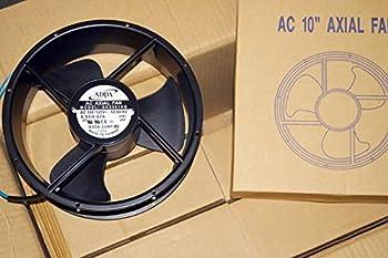 ADDA AK2581HB-AW AXIAL FAN, 254MM x 89MM, 115VAC, 620MA