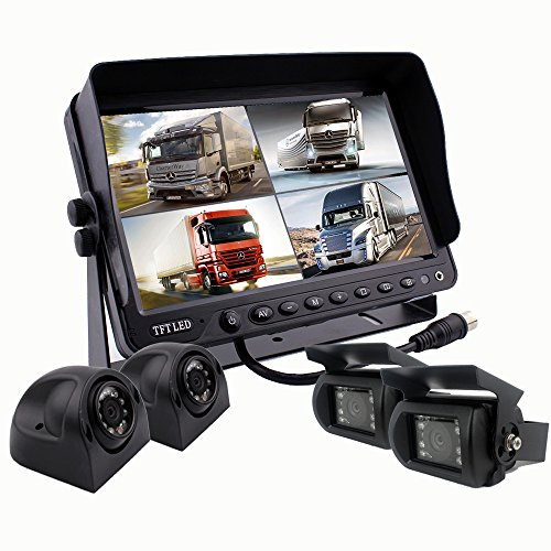 Camnex Backup Rear View Car Truck Camera & Monitor Safety System, 9
