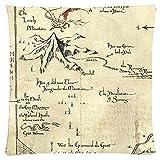 Amanda Gift Design The Hobbit Thorin's Map Gray Custom Unique Standard ...