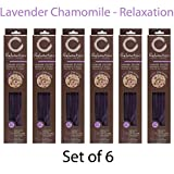 Hosley's 300 Incense Sticks / Approx. 300 gm.LAVENDER CHAMOMILE (Relaxation) Highly Fragranced Incense with Bonus Holder. Hand Fragranced, Infused with Essential Oils. O7