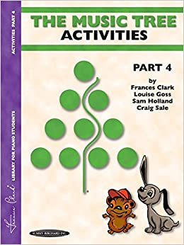 Book The Music Tree Activities Book: Part 4 (Music Tree (Warner Brothers))