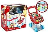 Luxury Mini Supermarket Play Set Kids Cashier Till & Shopping Trolley