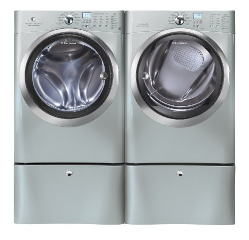 Electrolux Silver IQ Touch Front Load Washer and Steam GAS