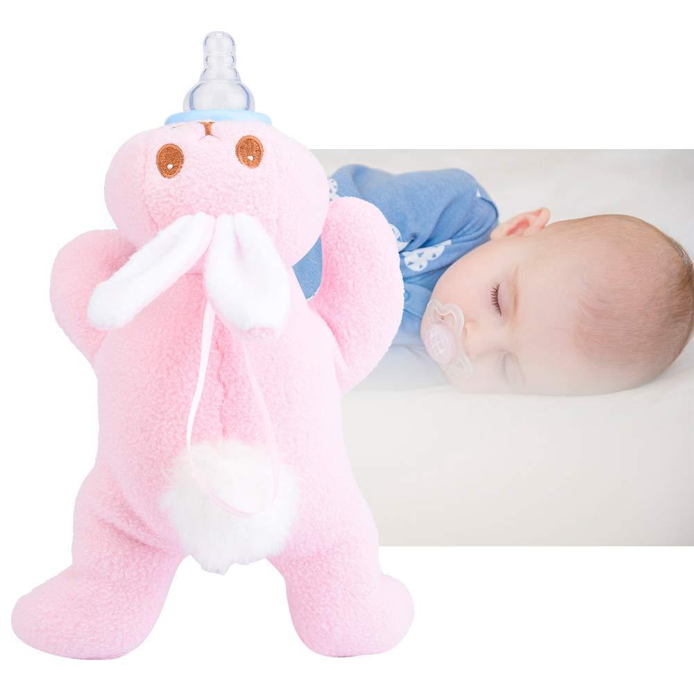 Baby Thermische F/ütterung Tasche Sichere Kaninchen Form Rosa Baby Kinder Milchflasche Warm Halten Pl/üsch Beutel Abdeckung Thermische F/ütterung Tasche