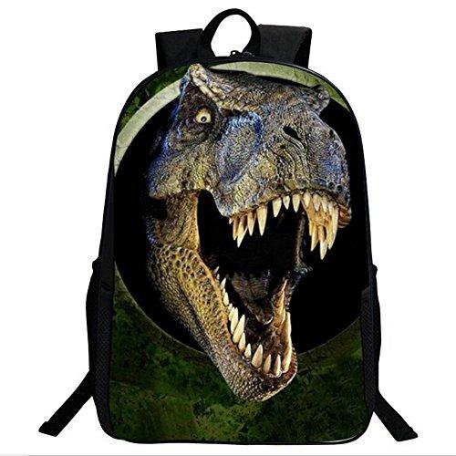 3D Dinosaur Boys Mochila Animal Print School Bags para Niños Adolescentes Mochila Dinosaurio: Amazon.es: Juguetes y juegos