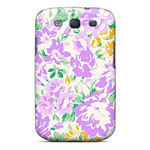 New Arrival Floral Art AuIpg13067Ggjnp Case Cover/ S3 Galaxy Case