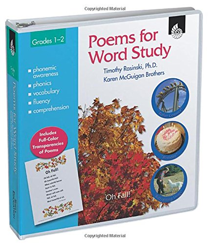 Poems for Word Study: Grades 1-2 (100th Day Of School Activities For Second Grade)