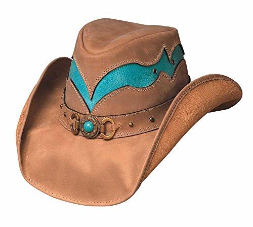 Bullhide Hats Cascade Range Top Grain Leather xLarge from MonteCarlo Hat Co