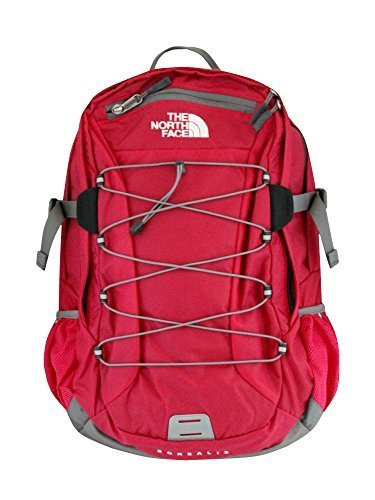 - The North Face Women Classic Borealis Backpack Student School Bag Rose Red