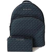 MICHAEL Michael Kors Abbey Large Backpack bundled with Michael Kors Jet Set Travel Double Zip Wallet Wristlet