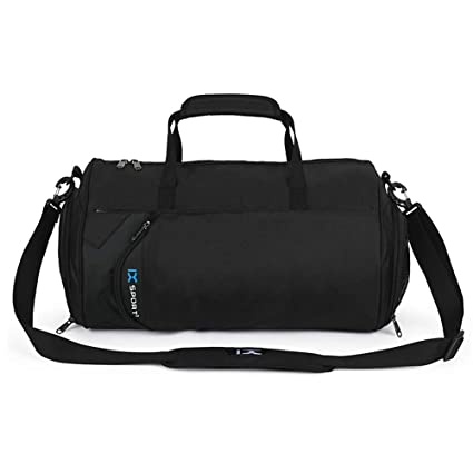 Large-Capacity Multi-Functional One-Shoulder Bag Portable Travel Bag  Leisure Fashion Yoga Fitness Bag Black Sports Duffels  Amazon.co.uk  Luggage a013736f8630f