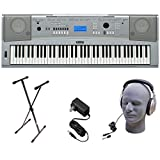 Yamaha DGX230 76-Key Digital Piano Pack with Stand, Power...