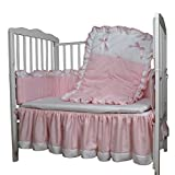 Baby Doll Bedding Regal Crib Bedding Set, Pink