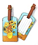 Luggage Tag - ''Sunflowers'' by Vincent Van Gogh