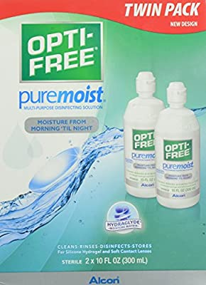 Opti-Free Puremoist Multi-Purpose Disinfecting Solution, 40 Ounce Pack