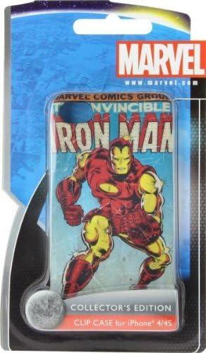 Marvel - Carcasa para iPhone 4S, diseño Iron Man vintage