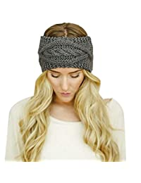 Susenstone®Womens Winter Hat Skiing Cap Knitted Beanie Headband