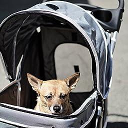 PetsN\'all Foldable Pet Stroller - Gray