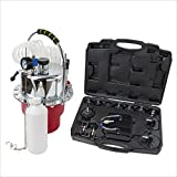 WIN.MAX Portable Pneumatic Air Pressure Kit Brake and Clutch Bleeder Valve System Kit