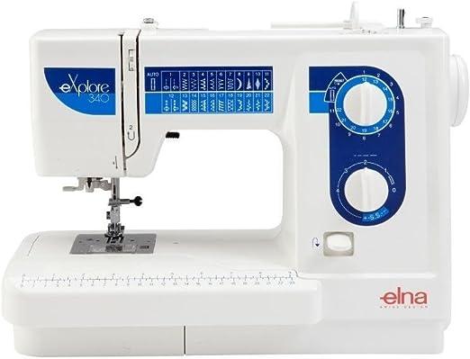 Elna 340EX - Máquina de coser: Amazon.es: Hogar