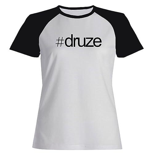 Idakoos Hashtag Druze - Religioni - Maglietta Raglan Donna